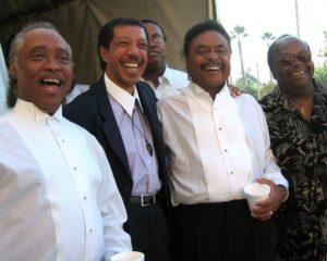 Guy Ellington, Monroe Wright (center)